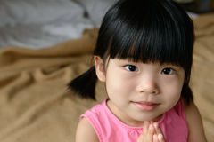 Little Asian girl Stock Images