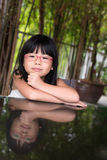 Little Asian girl Stock Photos