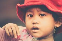 Little asian girl portrait Royalty Free Stock Image
