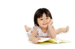 Little asian girl Stock Images