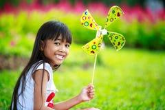 Little asian girl smiling Stock Images