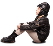 Little aviator Royalty Free Stock Images