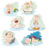 Little babies stock illustration