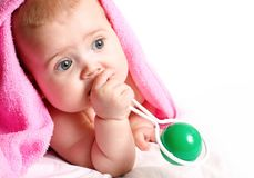 Little baby Stock Photo