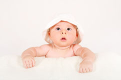 Little Baby After Bathing Stock Images