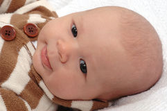 Little Baby Boy Stock Images