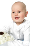 Little baby boy. Royalty Free Stock Images