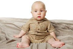 Little baby boy. Royalty Free Stock Photos