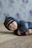 Little baby boy Stock Photos