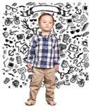 Little Baby Boy Royalty Free Stock Photo