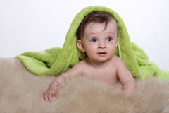 Little baby boy Royalty Free Stock Image