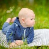 Little baby boy Stock Image