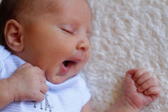 Little baby boy Royalty Free Stock Photography