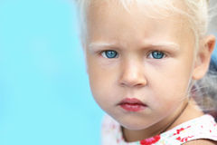 Little baby child girl Stock Images