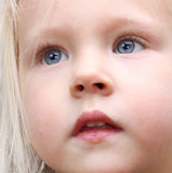 Little baby child girl Stock Photography