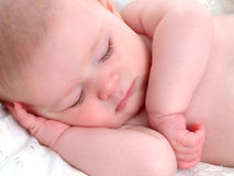 Little Baby Dreamer Stock Photography