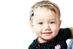 Little baby face Royalty Free Stock Images