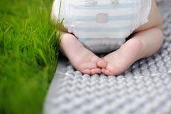 Little baby feet Stock Photos