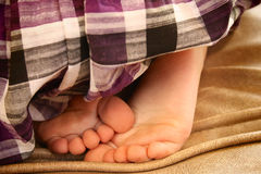 Little baby feet Royalty Free Stock Images