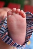 Little baby foot Stock Photo