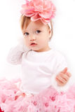 Little Baby Girl Stock Images