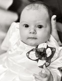 Little baby girl royalty free stock photography