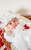 Little Baby Girl Royalty Free Stock Photos