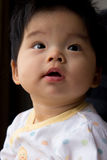 Little baby girl. Portrait of a little Asian baby girl Royalty Free Stock Image