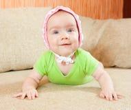 Little Baby Girl Stock Photography