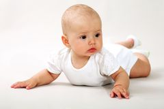 Little baby-girl Stock Image