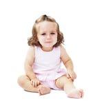 Little baby girl crying Stock Photos