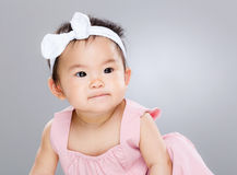 Little baby girl Stock Image
