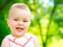 Little Baby Girl Portrait Royalty Free Stock Images