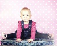 Little baby girl posing. Stock Photography