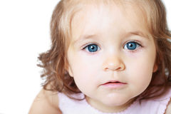 Little baby girl Stock Photo