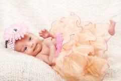 Little baby gitl Stock Photography