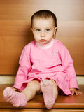 Little baby grievously looking Stock Photos
