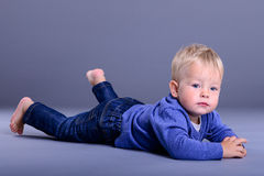 Little baby lies Royalty Free Stock Photos