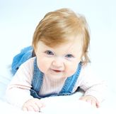 Little baby portrait Stock Photo