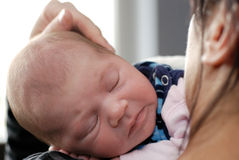 Little baby portrait stock images