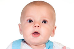 Little baby portrait Stock Photography