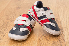 Little baby shoes Stock Image