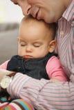 Little baby sleeping Royalty Free Stock Image