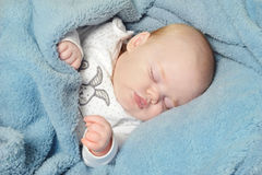 Little baby sleeping Royalty Free Stock Photography
