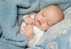 Little baby sleeping Stock Photos
