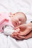 Little baby is sleeping Stock Photo