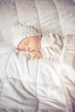 Little baby sleeping sweetly Royalty Free Stock Photography