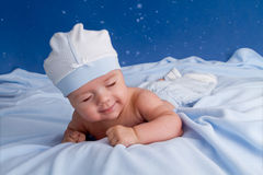 Little baby sliping Royalty Free Stock Images