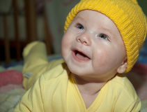 Little baby smile Stock Photo