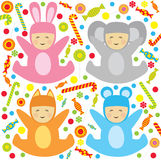 Little babys Royalty Free Stock Photos